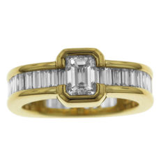 One-off (one size!) 5.50ct Diamond Ring, as new.
