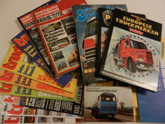 11 TRUCK books and 7 truck magazines on all brands.