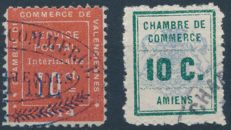 France 1914 - Chamber of Commerce and Strike stamps - Yvert 1