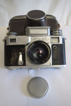"The very first ""Kiev-3"".The exact copy of Contax -3. USSR. 1949"
