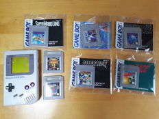 Game Boy Classic set incl. 7 games