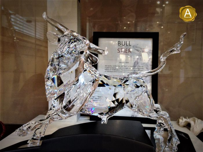 c96dfd5c0 Swarovski - Bull produced in limited numbered edition - Catawiki