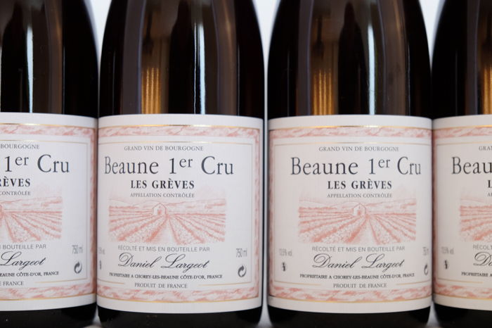 2012 Beaune Premier Cru Les Greves, Daniel Largeot x 6 Bottles