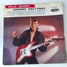 "Johnny Halliday: EP ""Hello Johnny""1960"