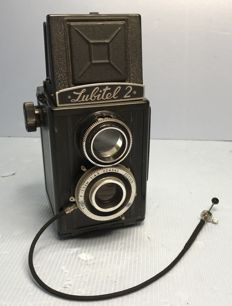 Lubitel 2, with cable release / CCCP