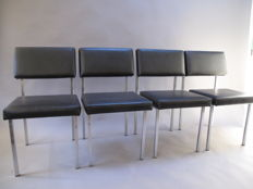 't Spectrum - Set of four 'SE60' dinner room chairs