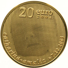 """The Netherlands - 20 Euro 2004 """"Birth coin"""" - gold"""