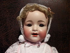 Character head antique doll - Simon & Halbig / Kämmer & Reinhardt 126 - Germany