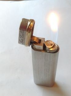 Authentic silver plated Cartier lighter - working