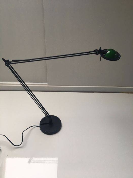 "Paolo Rizzatto & Alberto Meda for Luceplan  –   Desk lamp ""Berenice""."