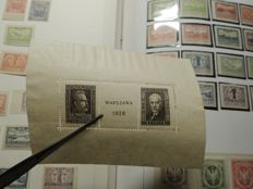 Poland 1860/1945 - local post offices - occupation - collection in Davo binder