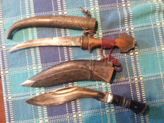 Two gorgeous and interesting Arab daggers from the 1800s