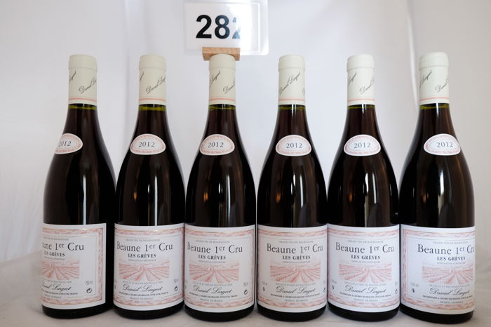 2012 Beaune Premier Cru Les Greves Daniel Largeot x 6 Bottles.
