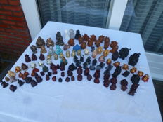 Collection of 114 Buddhas and Monks