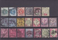 Great Britain 1880/1902 - a selection plus 3 covers