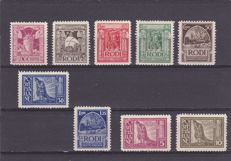 Rhodes 1929/1932 - 'Pictorial' - Both series
