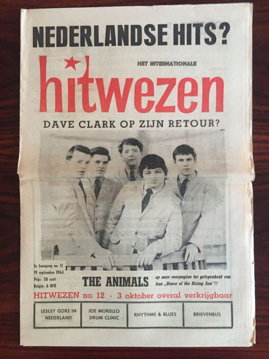 Hitwezen - Dutch popmagazine - Lot with 5 issues - 1964