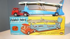 Corgi Major Toys - Scale 1/48 - Carrimore Car Transporter with Bedford Tractor Unit No.1105