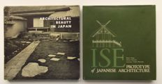 Architecture; Lot with 2 books on Japanese architecture - 1956 / 1964