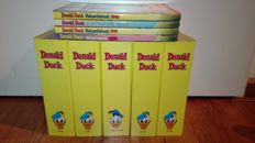 Donald Duck (magazine) + Donald Duck Extra (magazine) - Years 1999 + 2000 - 130x sc  + 4 holiday and winter books 1999/2000