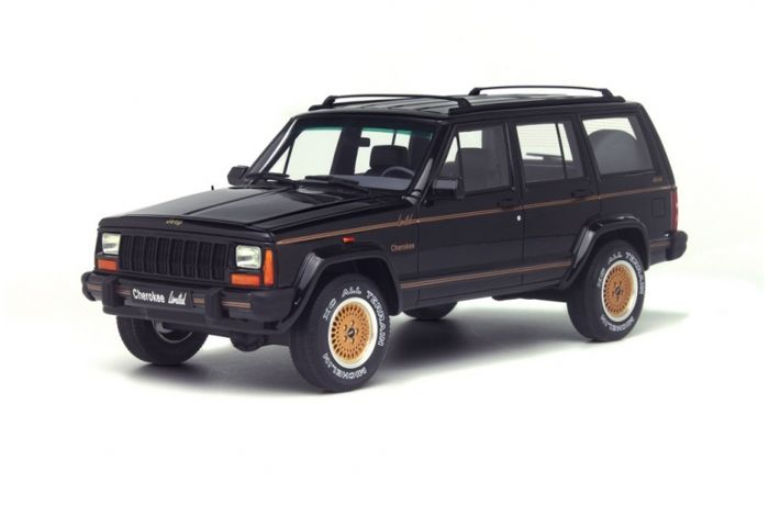 Otto Mobile   Scale 1/18   Jeep Cherokee   Black   Limited Edition 1,500
