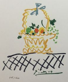 Pablo Picasso (after) -  Le panier de fruits