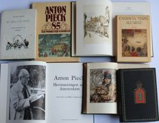 Anton Pieck (1895-1987); Lot with 7 illustrated books - 1953/1986
