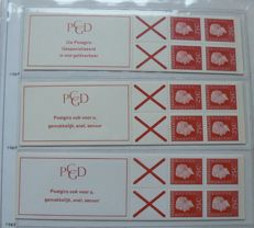 The Netherlands 1964/2002 - Collection of stamp booklets in DAVO album