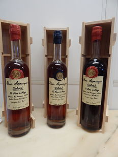 3 bottles of Armagnac