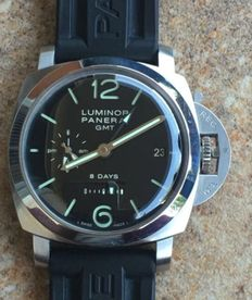 Panerai 1950 8 Days GMT PAM00233 (Only 1000pc) - Mens  Watch.