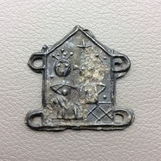 Medieval Pewter Pilgrim Badge