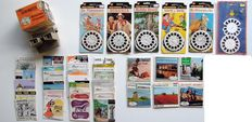 Sawyers view-master model G 2041 plus 12 sets of images and 25 booklets