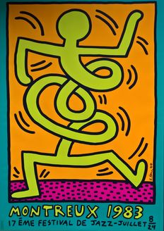 Keith Haring - Jazz Festival Montreux