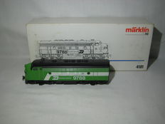 Märklin H0 - 4181 - Diesel locomotive withouit engine  -  Burlington Northern F 7 USA