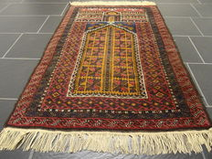 Beautiful old hand-knotted oriental carpet – Belutsch – Measurements: 85 x 130 cm – Around 1960 – Very good