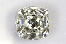 Cushion geslepen diamant van 1.33 ct  J / Internally Flawless