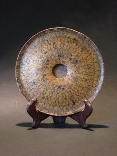 """Antique geomantic compass """"luopan"""" - China - First half 20th century"""