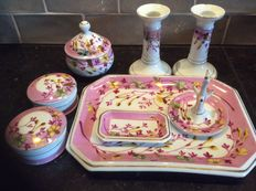 Lovely porcelain vanity table set