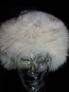 Fur hat – Silver fox