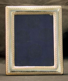 Giani Versace - Vintage Sterling Silver Picture Frame, Made in Italy 1990's