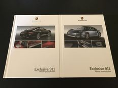 2 Porsche 911 Carrera, Turbo, Exclusive catalogues