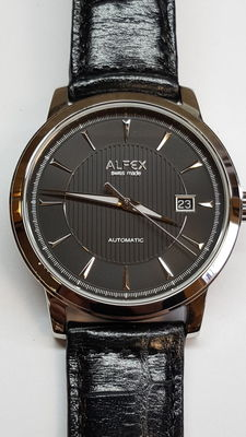 Alfex 9012/606, men's wrist watch, 21st century, as new!