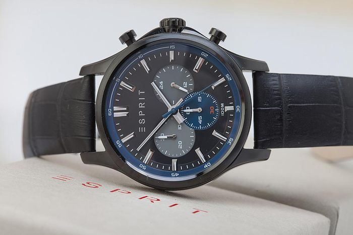 Esprit Mathias chronograph – men's wristwatch – in new condition 0122