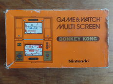 Nintendo Game & Watch - Donkey Kong, Boxed, complete with instructions and battery cover