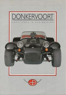 Brochures Dutch car brands