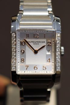 Baume & Mercier - Women's watch - Hampton Square - Diamond