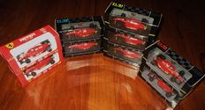 Onyx Models - Scale 1/43 - Lot with 9 Ferrari F.1 1989-1992