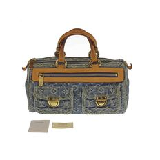 Louis Vuitton – Monogram Denim Neo Speedy 30 Limited Edition – Handbag