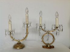 Two French lamps