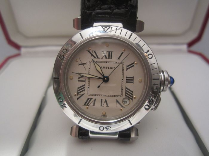 Cartier Pasha R series – steel – unisex watch